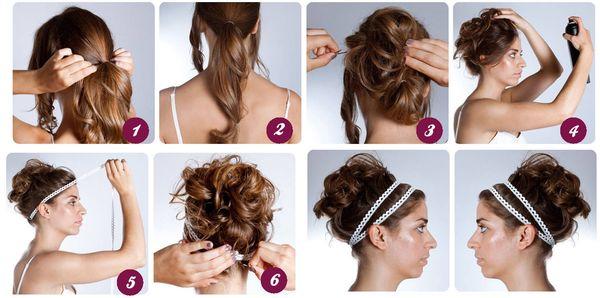 Peinados recogidos para cabello largo 6