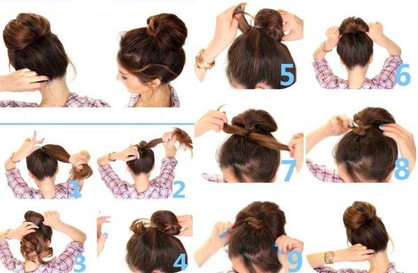 Peinados recogidos sencillos paso a paso 2