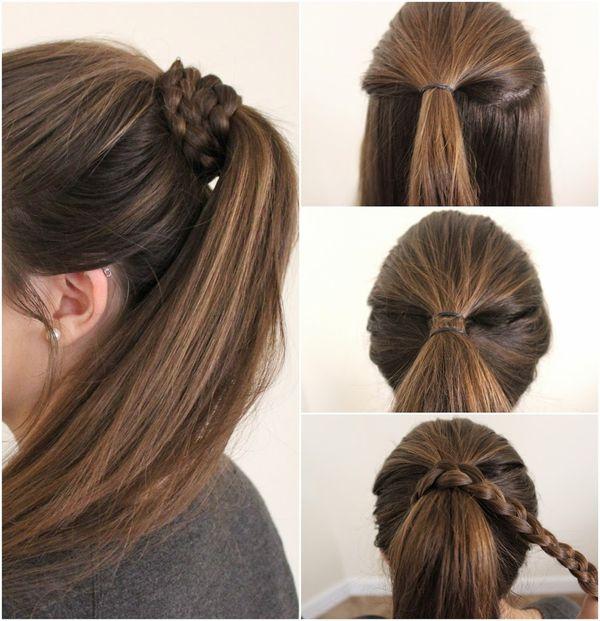 Peinados recogidos sencillos paso a paso 6