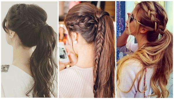 Peinados sencillos con trenzas 1
