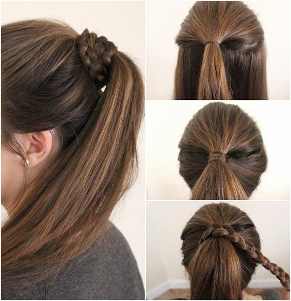 Peinados sencillos con trenzas 2