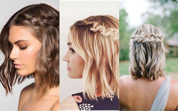 Peinados sencillos con trenzas 3