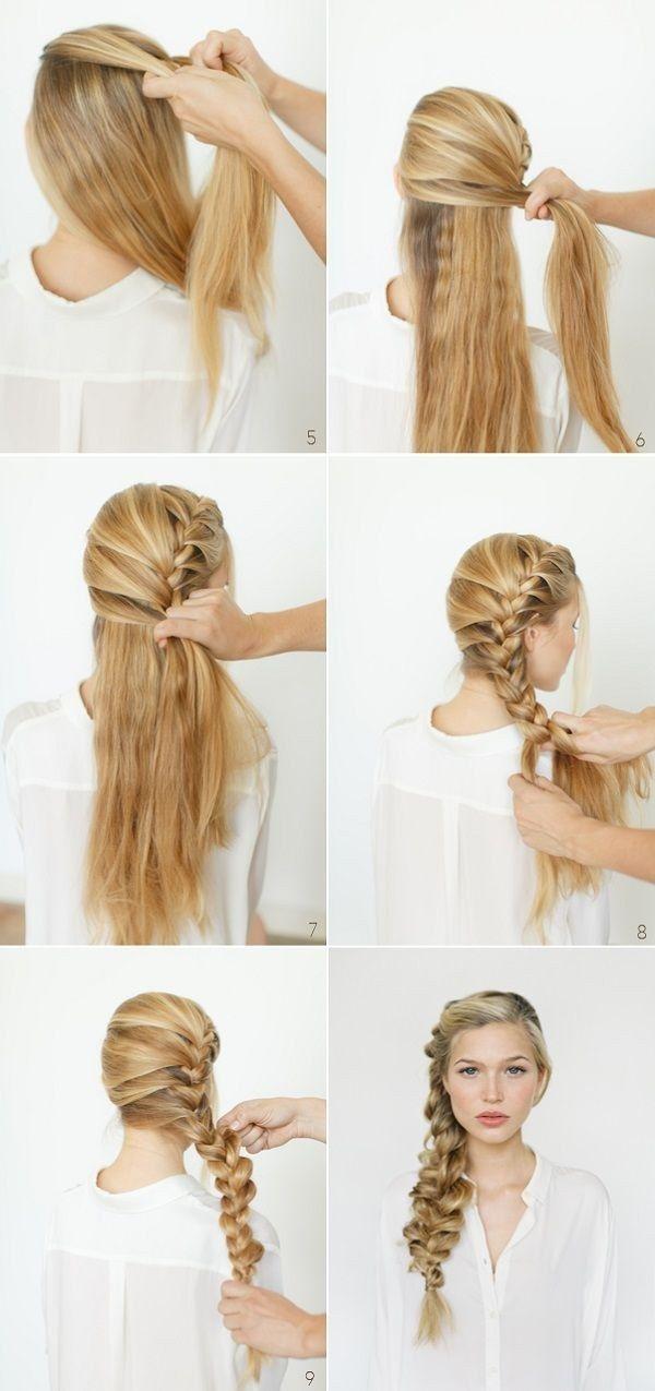 Peinados sencillos con trenzas 4