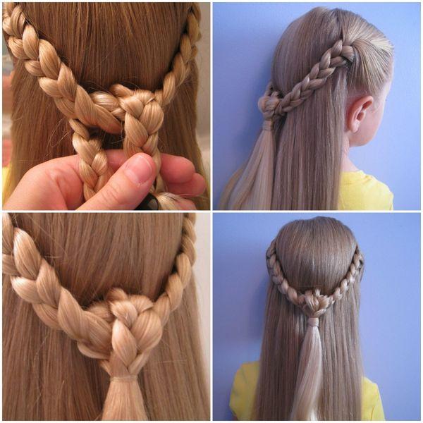 Peinados sencillos con trenzas 5
