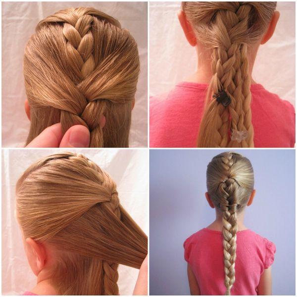 Peinados sencillos con trenzas 6
