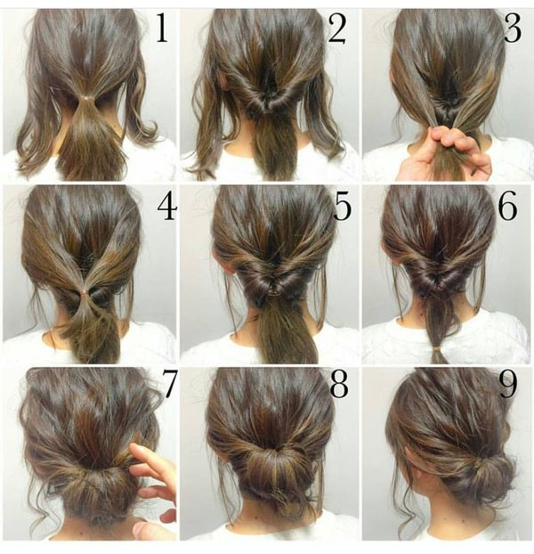 Peinados sencillos para fiestas paso a paso 3
