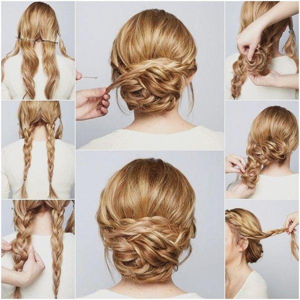 Peinados sencillos para fiestas paso a paso 4