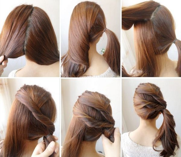 Peinados sencillos para fiestas paso a paso 5