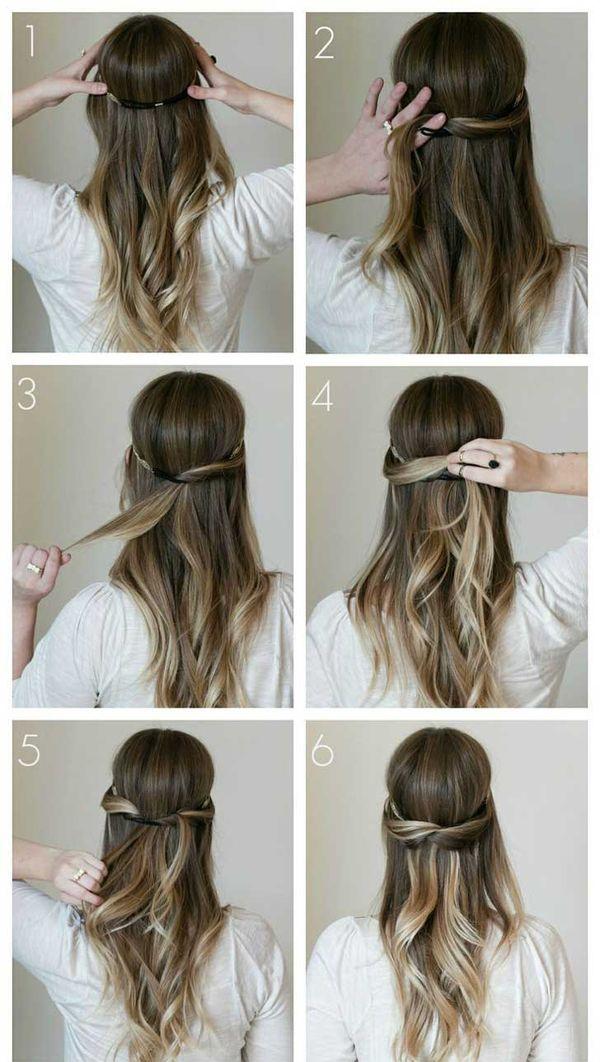 Peinados sencillos para todos los das 6