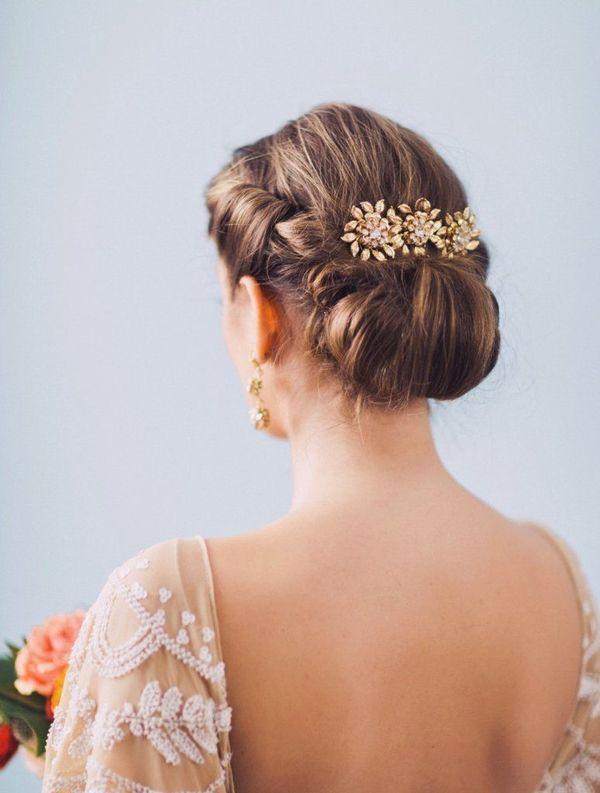 Peinados sencillos y fciles para boda 1