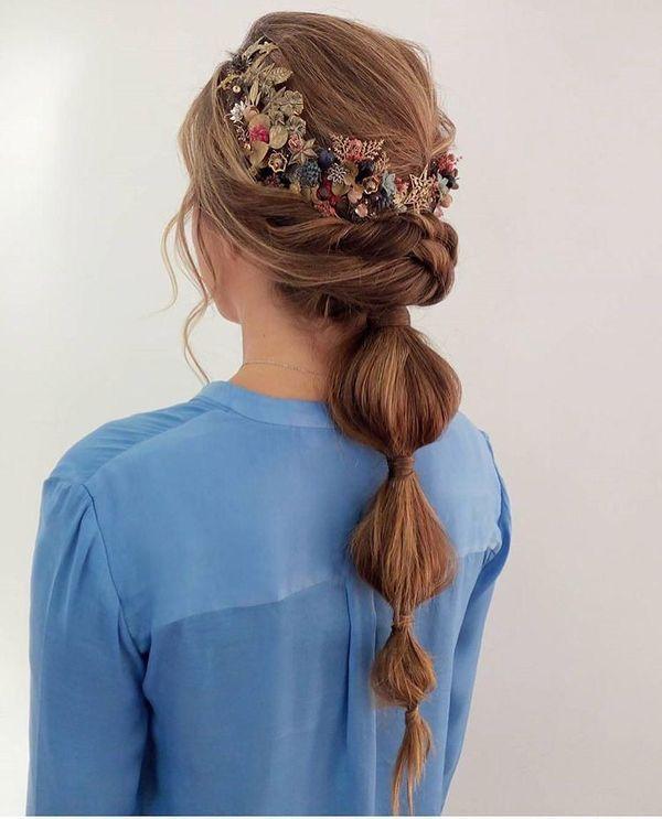 Peinados sencillos y fciles para boda 2