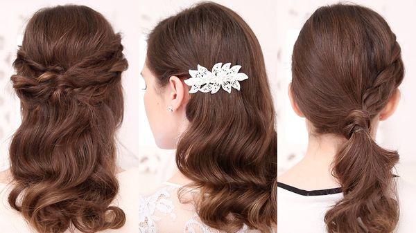 Peinados sencillos y fciles para boda 4