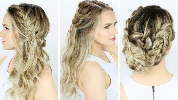 Peinados sencillos y fciles para boda 6