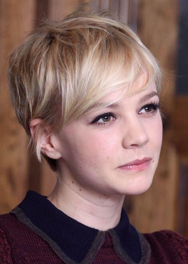 Pixie Cut fr Blondes Haar 3
