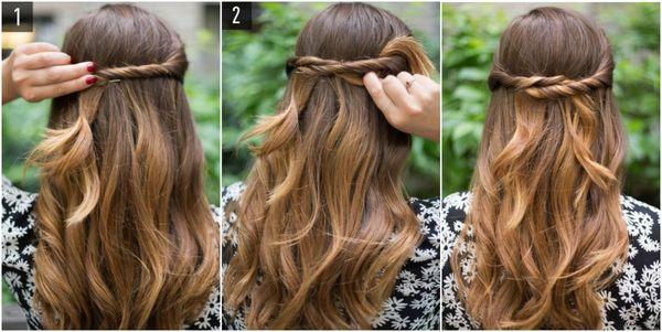 Tutoriales de peinados sencillos 1