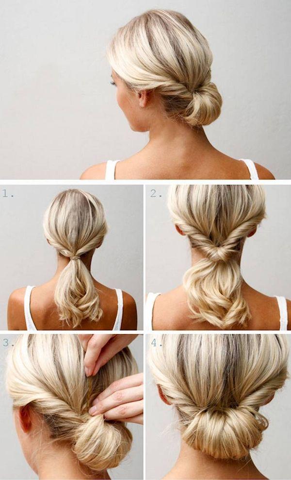 Tutoriales de peinados sencillos 4