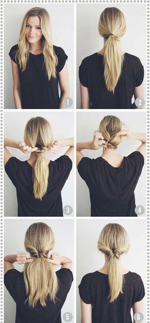 Tutoriales de peinados sencillos 5