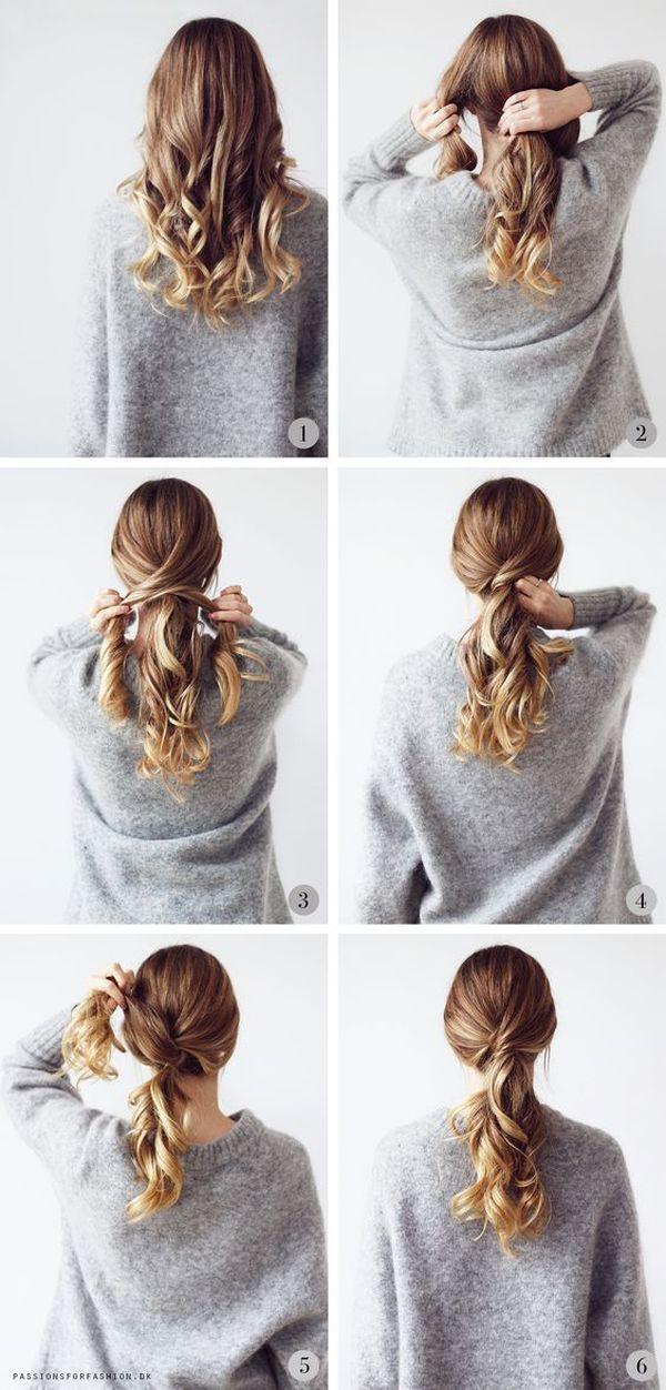 Tutoriales de peinados sencillos 6