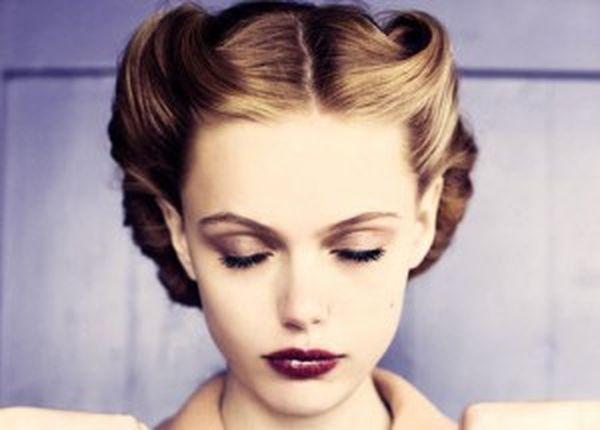 Vintage Rockabilly Frisur fr kurze Haare 5