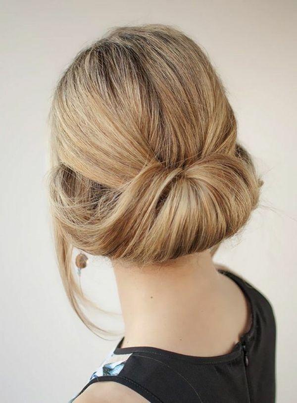 Leichte Hochsteckfrisuren fr lange Haare 1