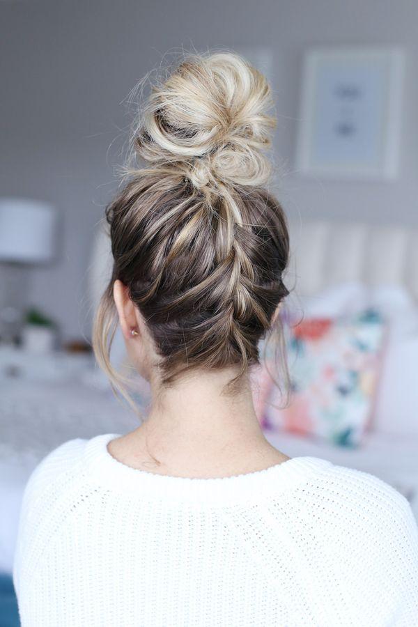 Leichte Hochsteckfrisuren fr lange Haare 2