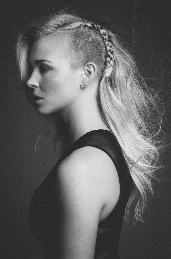 Sidecut fr Frauen mit langen Haaren 1