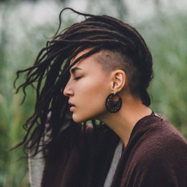 Sidecut fr Frauen mit langen Haaren 3