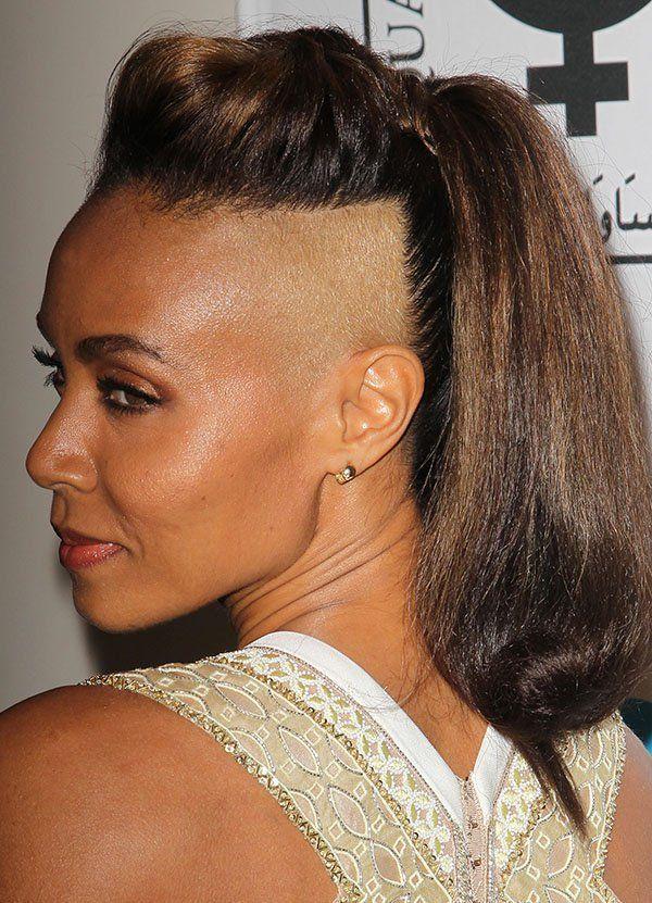 Sidecut fr Frauen mit langen Haaren 4