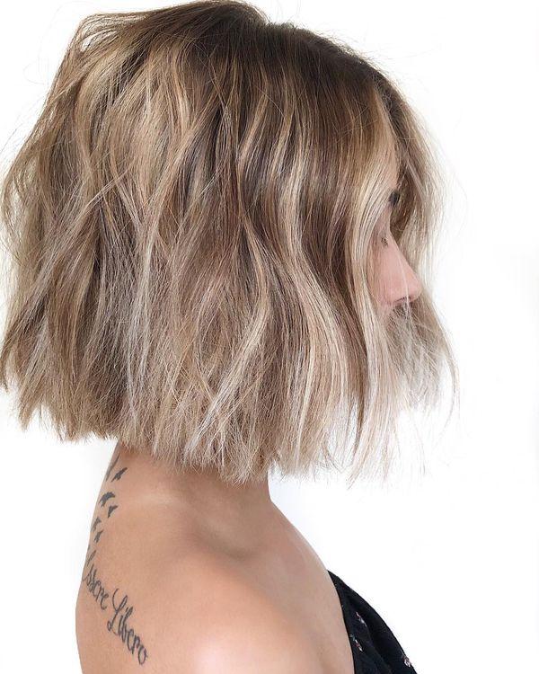 Balayage bei kurzen Haaren 3