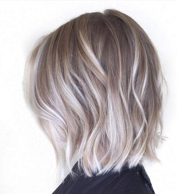 Balayage fr kurze Haare 2