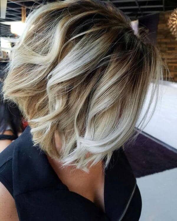Balayage fr kurze Haare 5