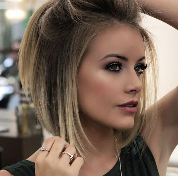 Balayage fr kurze Haare 7