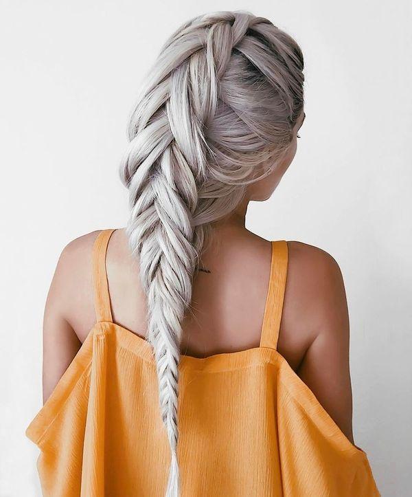 Coole Flechtfrisuren fr lange Haare 4