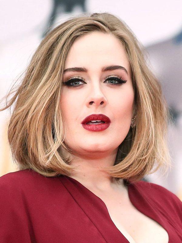 Die besten Frisuren fr runde Gesichter und mittellange Haare 1