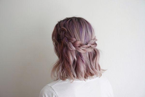 Einfache Flechtfrisuren fr mittellange Haare 1