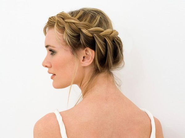 Einfache Flechtfrisuren fr mittellange Haare 3