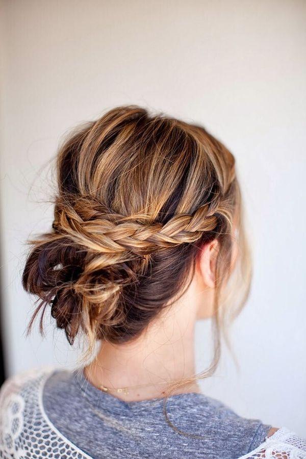 Einfache Flechtfrisuren fr mittellange Haare 4