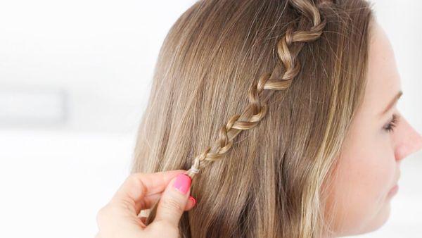 Einfache und schnelle Frisuren fr lange Haare 1