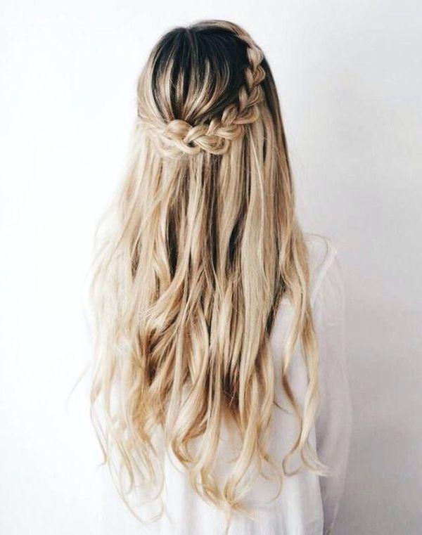 Einfache und schnelle Frisuren fr lange Haare 4