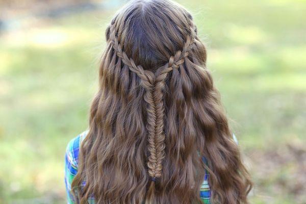 Einfache und schnelle Frisuren fr lange Haare 5