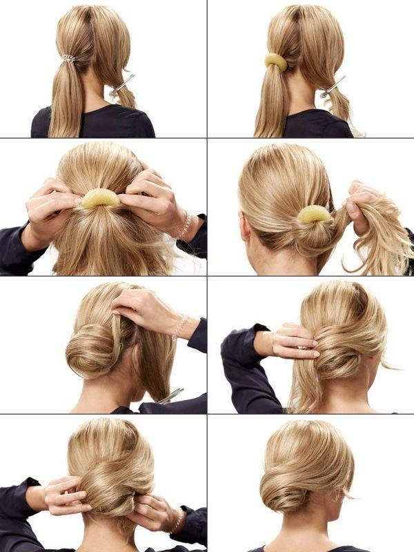 Elegante festliche Frisuren selber machen 1
