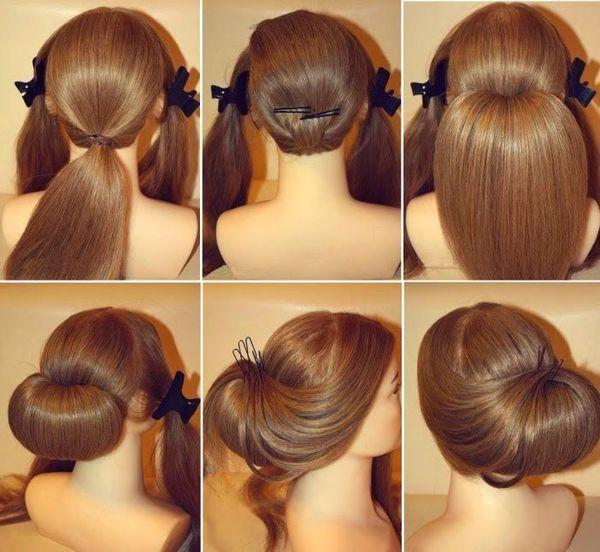 Elegante festliche Frisuren selber machen 2