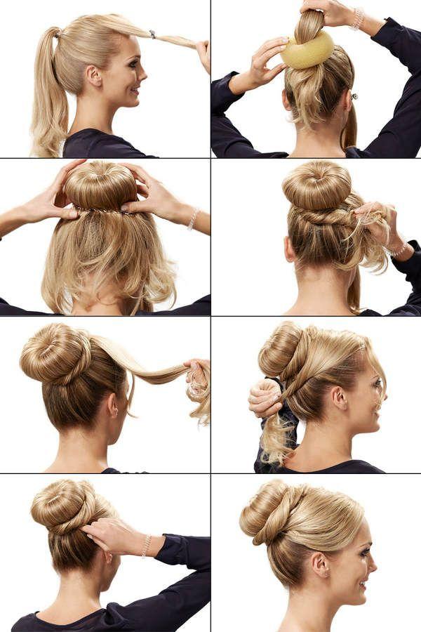 Elegante festliche Frisuren selber machen 4