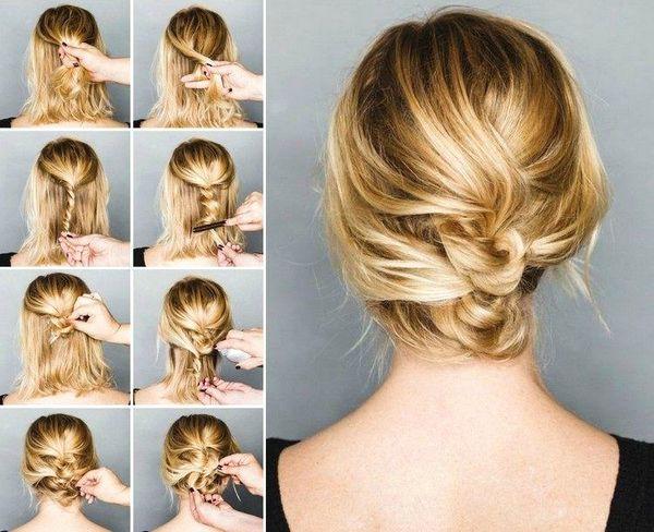 Elegante festliche Frisuren selber machen 5