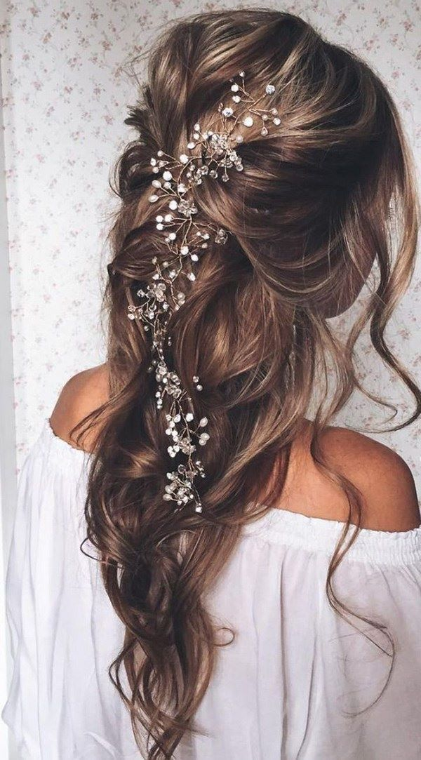 Festliche Frisuren fr lange Haare 1