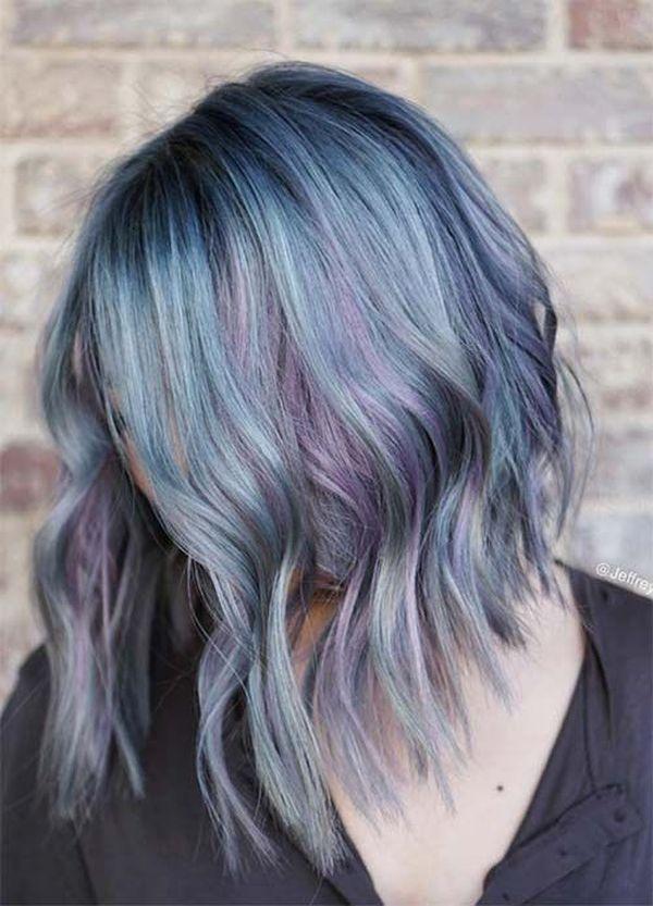 Haare blau frben 2
