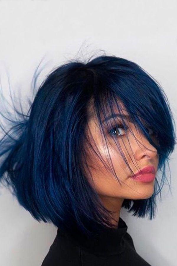 Haare blau frben 3