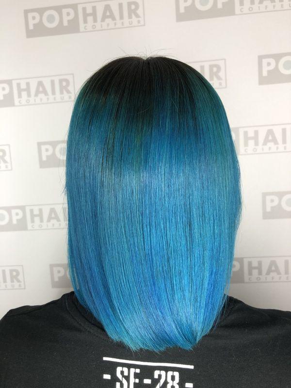 Haare blau frben 5