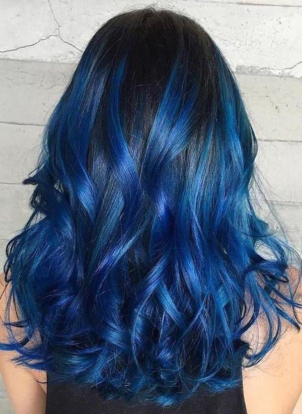 Haare blau frben 6
