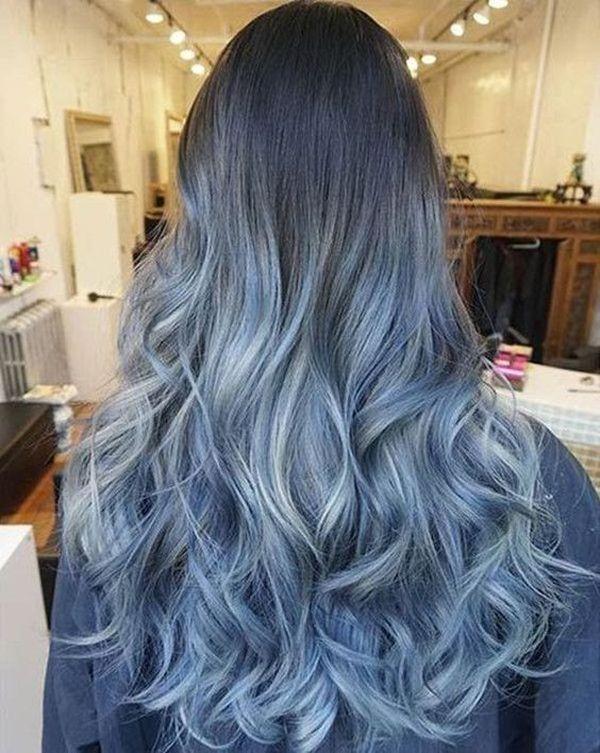 Haare blau frben 7